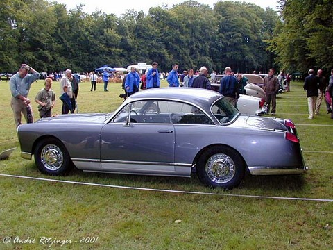 1955 Facel Vega FV-1 coupe- side ritz