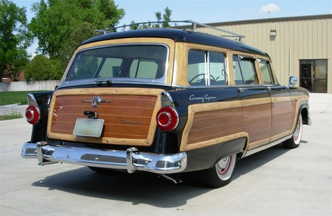 1956 Ford Country Squire Wagon rvr
