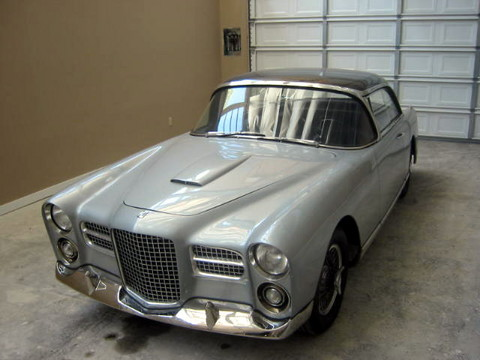1957 Facel Vega HK500-slvr-reflection