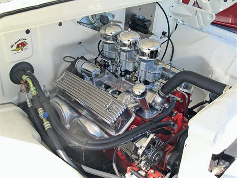 1960 Ford F-100 (mod) engine