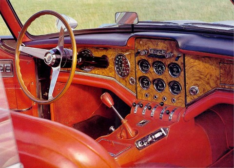 1962 Facel Vega Hkii Coupe Dash Copy peterc