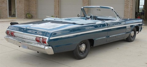 1965 Plymouth Fury III 2dr convertible rvr