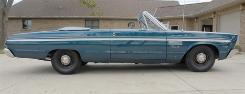 1965 Plymouth Fury III 2dr convertible svr