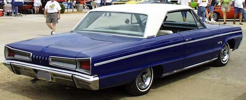 1966 Dodge Polara Htp-blue&white-rVr carnut-mx