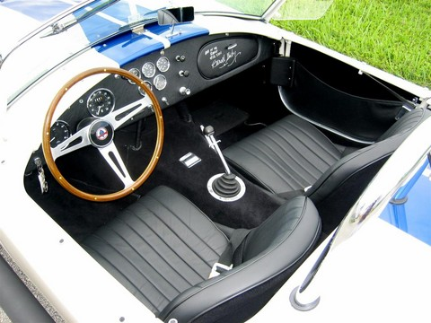 1966 Shelby Cobra 427 Roadster CSX3301 Interior