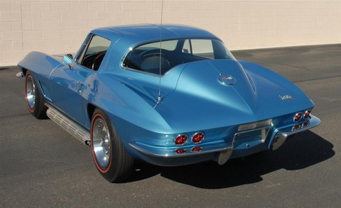 1967 Chevrolet Corvette Coupe Marina Blue rvl