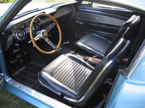 1967 ford mustang shelby gt350 fastback brittany blue interior picture gallery motorbase for 1967 mustang interior pictures