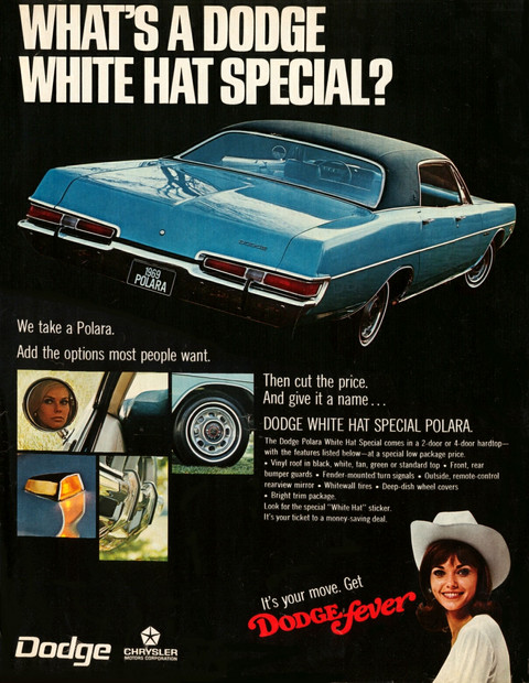 1969 Dodge Polara magazine ad 02b
