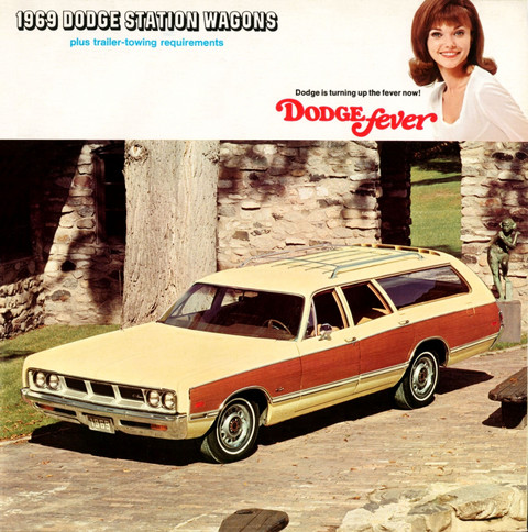 1969 Dodge station wagon catalog 00 cover
