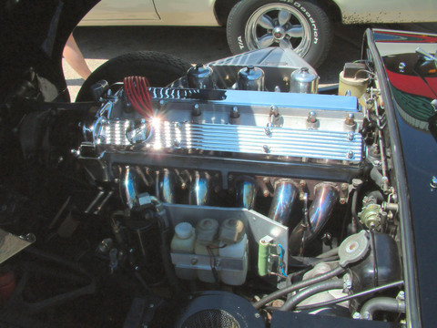 1969 Jaguar XKE engine KRM