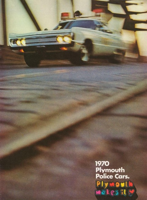 1970 Plymouth Police Catalog 00cover b