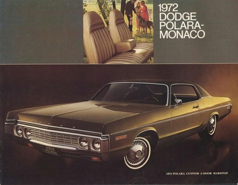 1972 Dodge brochure 00 cover b