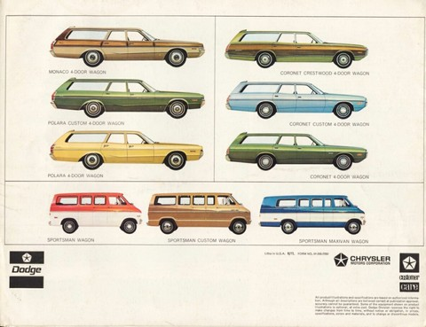 1972 Dodge stationwagon brochure 05 back b