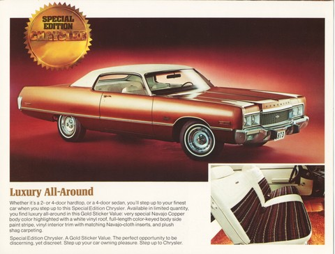 1973 Chrysler Special Edition Gold Duster 03