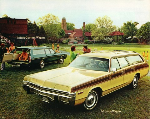 1973 Dodge Polara Monaco Brochure 12b - Picture Gallery