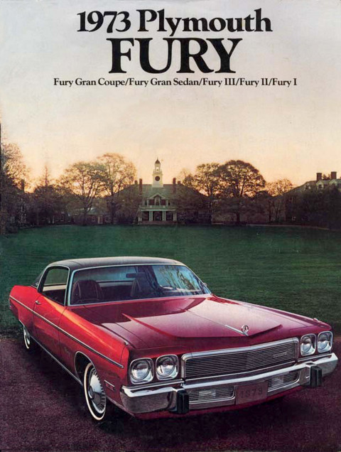 1973 Plymouth Fury Brochure 00 cover-b