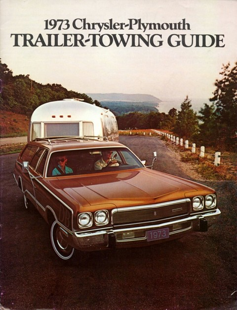 1973 Plymouth trailer towing guide 00b cover