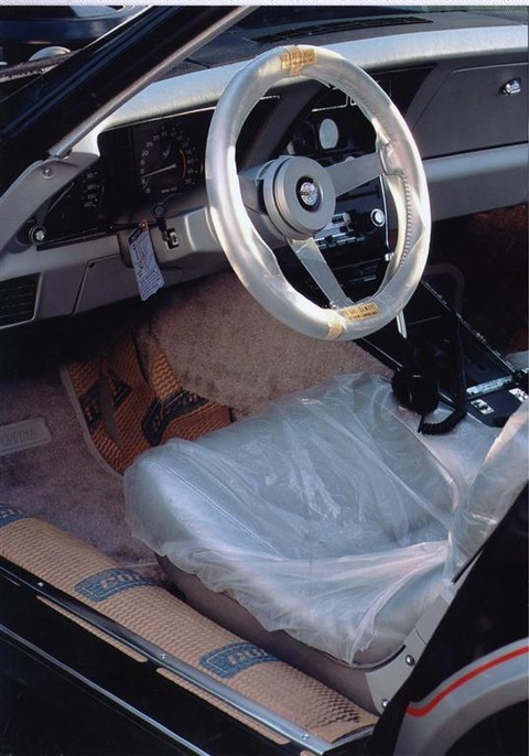 1978 Chevrolet Corvette Pace Car Coupe Interior