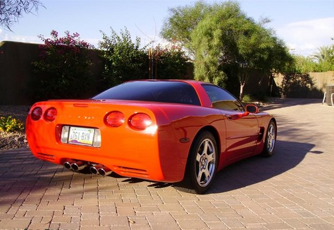 1997 Chevrolet Corvette Coupe (mod) rvr