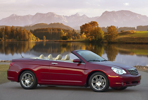 2008 Chrysler Sebring convertible press picture