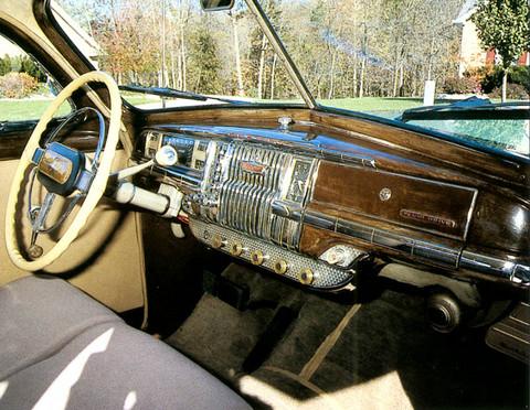 1947 Desoto Custom Club Coupe Dash Panel Thomass Picture