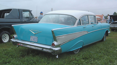 1957 Chevrolet Bel Air 4dr rsvp KRM