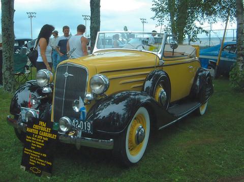 1934 Chevrolet Master Cabriolet fsvd KRM - Picture Gallery - Motorbase
