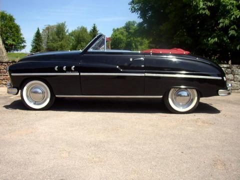 1953 ford vedette cabriolet blk svl mx picture gallery motorbase. Black Bedroom Furniture Sets. Home Design Ideas