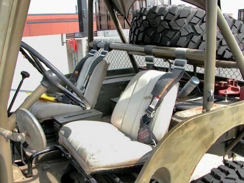 1946 Willys Overland Jeep CJ 2A Seats Olive Drab 2005 WW