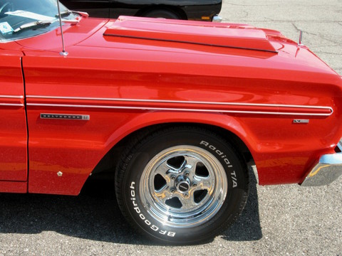1966 Plymouth Belvedere II Hardtop w-Modified 426 Street Wedge Fender & Wheel Red (2005 WW@WD PROC) DSCN7912