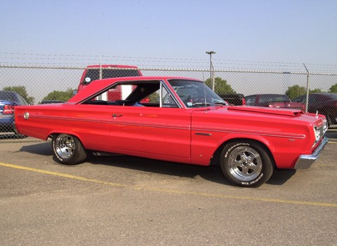 1966 Plymouth Belvedere Red svr (2001 WW@WD DCTC)