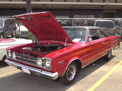 1966 Plymouth GTX Red fvl (2001 WW@WD DCTC)