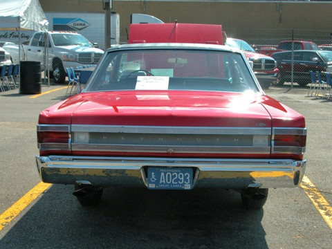 1967 Plymouth Belvedere GTX Hardtop Bright Red rv (2005 WW@WD PROC) DSCN7889