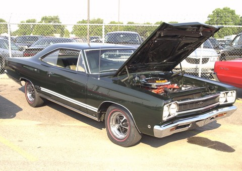 1968 Plymouth GTX Hardtop Green fvr (2001 WW@WD DCTC)