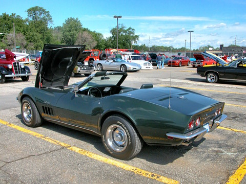 1969 Corvette Stingray >> 1969 Chevrolet Corvette Stingray 427 Convertible Dark ...