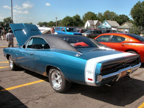Chargers Cars  Blue