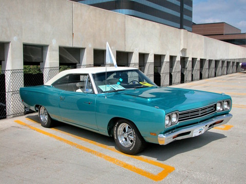 1969 Plymouth Road Runner Hardtop W Mod Small Block Engine
