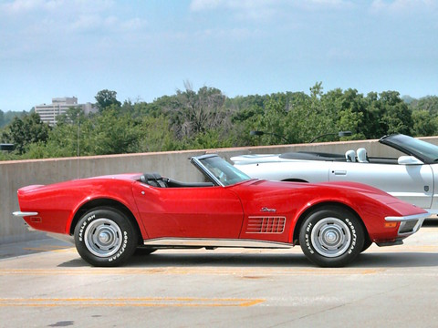 1970 chevrolet corvette stingray convertible monza red svr 2005 ww wd. Cars Review. Best American Auto & Cars Review