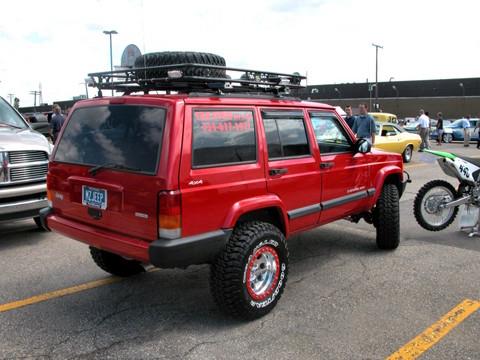 2001 Jeep Cherokee Sport 4 Door Flame Red Rvr 2005 Ww Wd