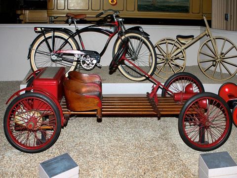 1928 Auto Red Bug Electric Powered Children S Automobile