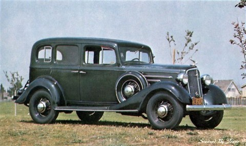 1934 Chevrolet Master Sedan - Picture Gallery - Motorbase