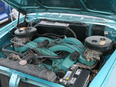 1964 Chrysler 300k Hardtop 413 Long Ram Dual 4 Barrel 390