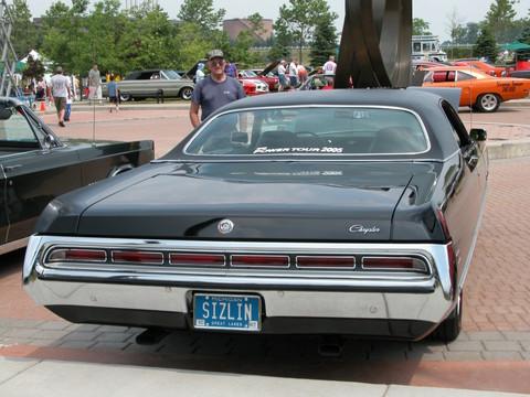 1971 Chrysler 300 2 Door Hardtop Black Rv 2005 Cema