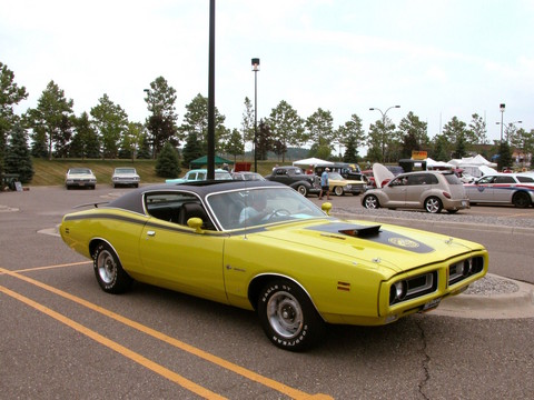 1971 Dodge Charger Super Bee 383 Magnum With Ramcharger