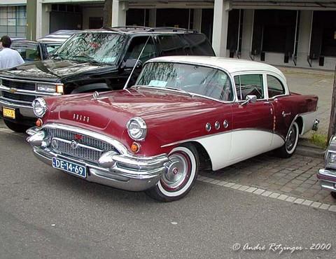 1955 buick special 2 door sedan maroon white fvl ritz for 1955 buick special 2 door
