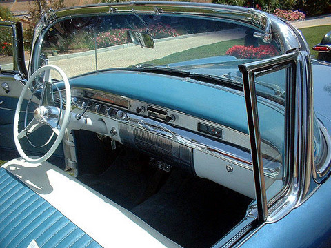 1956 Buick Century Convertible Blu Amp Wht Dash Mx Picture