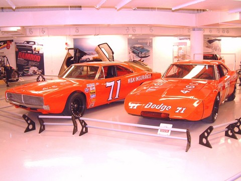 1969 Dodge Charger 500 And Charger Daytona Nascar Race