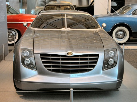 2001 Chrysler Crossfire Coupe Concept Car Lfv 2nd Floor Wpc Museum