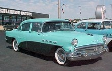 1956 Buick Super Sedan-2xgrn mx