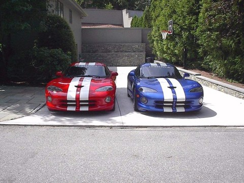 1998 Dodge Viper Gts Red Amp Blue Front Picture Gallery